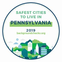 Safest Cities to Live in PA 2019